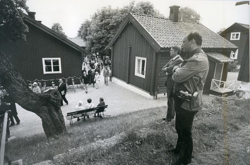 Höglund och Hidemark vid Mathiesen 1975