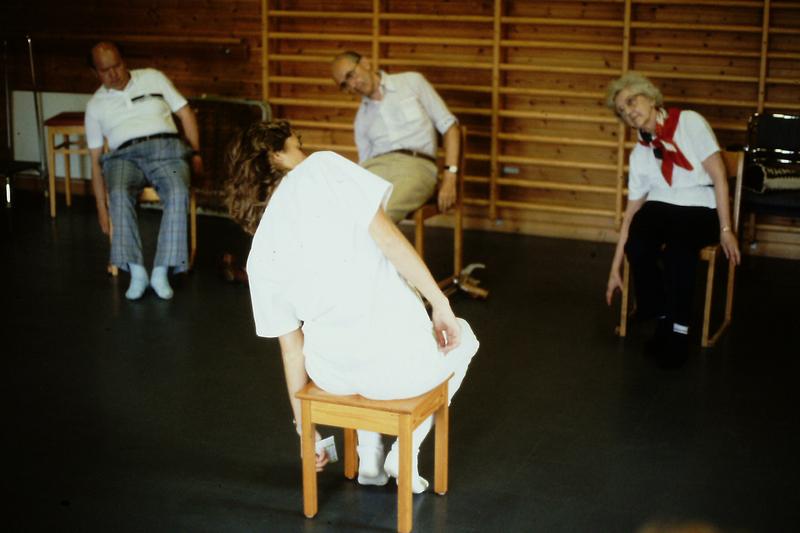 Sjukgymnastik i grupp 1987