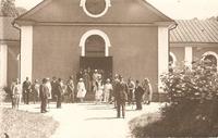 Kyrkan. 1940-tal. Ej postg. Westling Sala. Asida.jpg