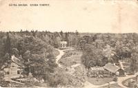 Stora torpet 1900. Översiktsbild Engelska parken
