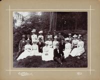 Sätra Brunn. Från Sätra Brunn 1902. Bl a syskonen Henschen. Foto.jpg