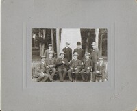 Sätra Brunn. Läkarkåren 1906 framför Kalseniusstenen. Foto..jpg