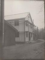 Sätra Brunn. Ofvandahls. Ombyggnation. Årtal 1924-25. Landsvägen från väster..jpg
