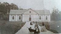 Sätra Brunn. Brunnens 3dje kyrka. Uppförd 1863-66. Foto 1860-tal.jpg